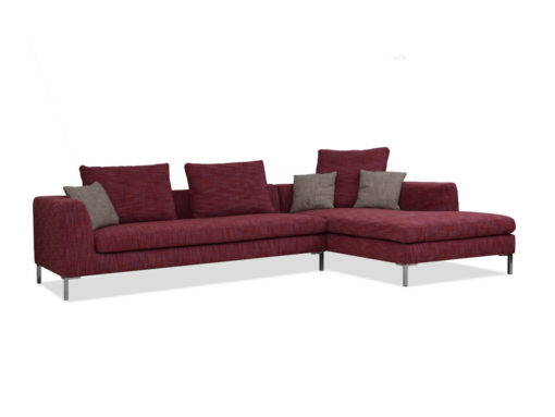 Sofa Zaragossa in rot